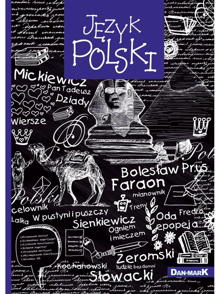 Zeszyt w linie, JĘZYK POLSKI format A5, 80 kartek - 1106002KLFOA5 - art. szkolne - txm