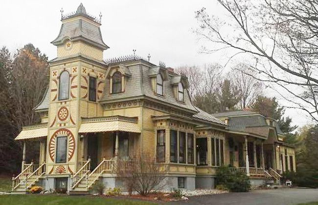 25 best ideas about victorian houses for sale on for Second empire homes for sale