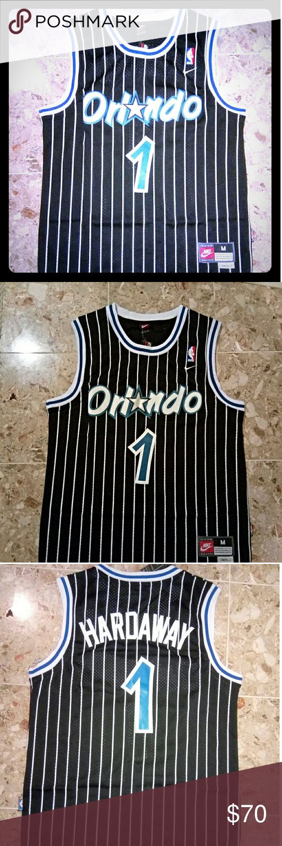 Vintage NBA Orlando Magic Penny Hardaway Jersey I am selling a brand new vintage and rare Nike NBA Orlando Magic Anfernee Penny Hardaway Jersey. This jersey is in a size Men's Medium. Fits great. Please serious inquiries only. Nike Shirts Tank Tops