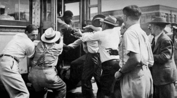 """8 Successful and Aspiring Black Communities Destroyed by White Neighbors  Atlanta Race Riot (1906); Greenwood , Tulsa, Oklahoma """"Black Wall Street"""" (May 31 – June 1, 1921); Chicago Race Riots (1919); Rosewood Massacre (1923); Washington, D.C. Race Riots (1919); Knoxville, Tennessee Race Riots (1919); New York City Draft Riot (1863); The East St. Louis Massacre (1917) …  *And plenty of more acts of terror since then!! Who's the (real) terrorist???! -#realhistory"""