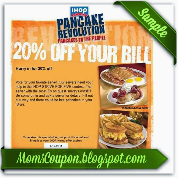 printable Ihop coupon 10 off 50 February 2015