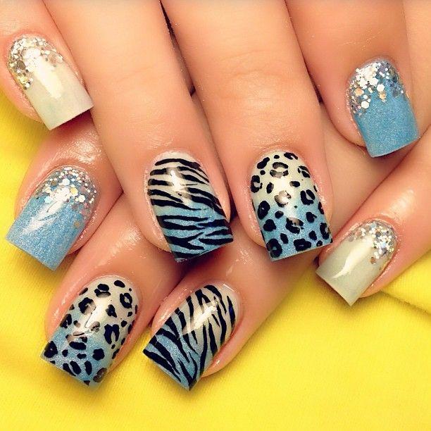 17 Best Ideas About Zebra Nail Designs On Pinterest