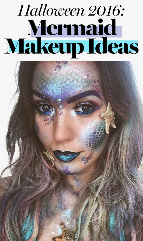 Mermaid makeup is taking over Instagram, and we're more than a little obsessed.