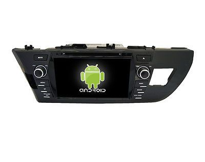 "Price - $439.00.ㅤㅤㅤ                8"" Android 6.0 Quad Core Car Dvd Gps Naivi Radio Bt For Toyota Corolla 2013 2014"