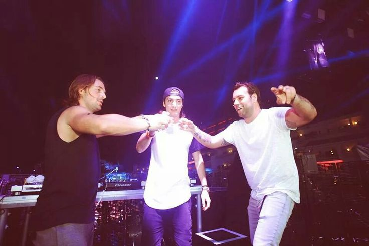 Axwell, Ingrosso and Alesso. Depatures Ibiza.
