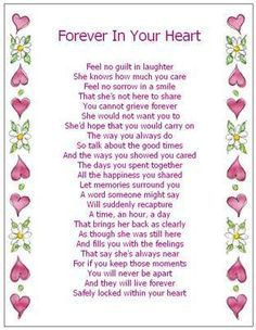 Forever in your heart | Quotes and Poems | Pinterest | Heart