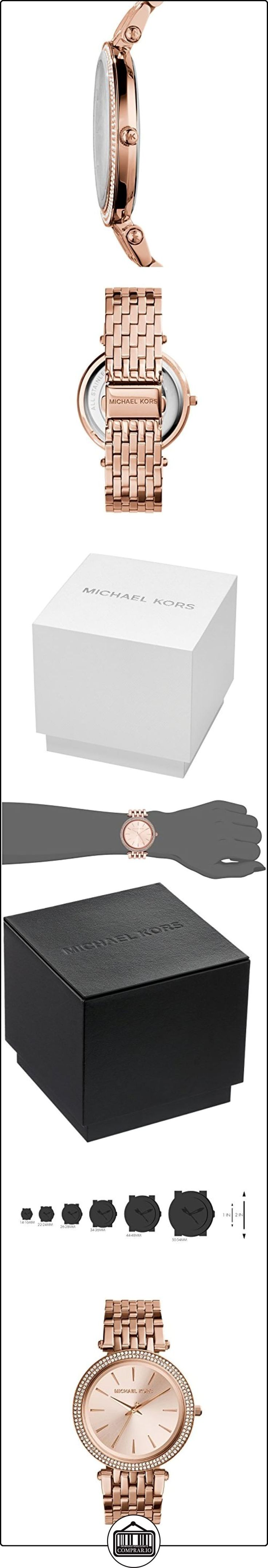 Michael Kors MK3192 Ladies All Rose Gold Watch  ✿ Relojes para mujer - (Gama media/alta) ✿