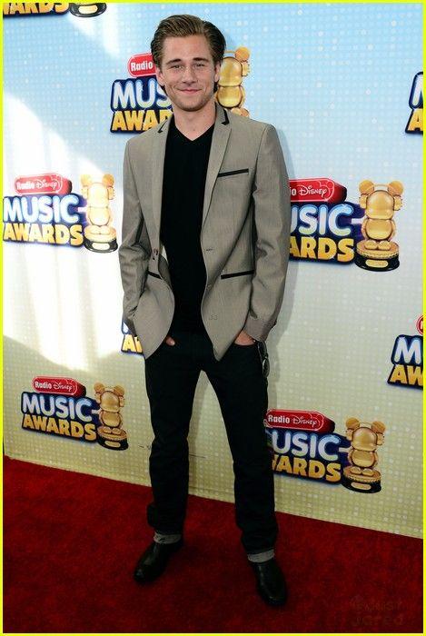 Luke Benward at the Radio Disney Music Awards 2013