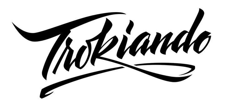 Trokiando Lettering Decal | Trokiando | Stuff to Buy ...