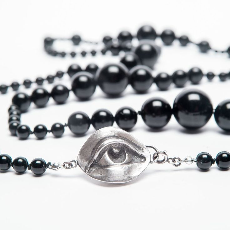 The Weeping Woman: Mourning Beads – Blood Milk Jewels