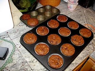 Sailor Jack muffins (Raisin and spice muffins)