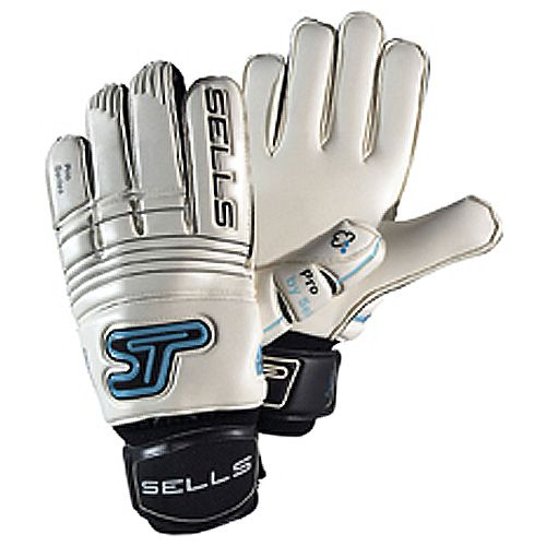Sells Pro Aqua Goalkeeper Gloves - model SGP7001F White/Aqua/Black/8: The Pro range features Perimeter… #Sport #Football #Rugby #IceHockey