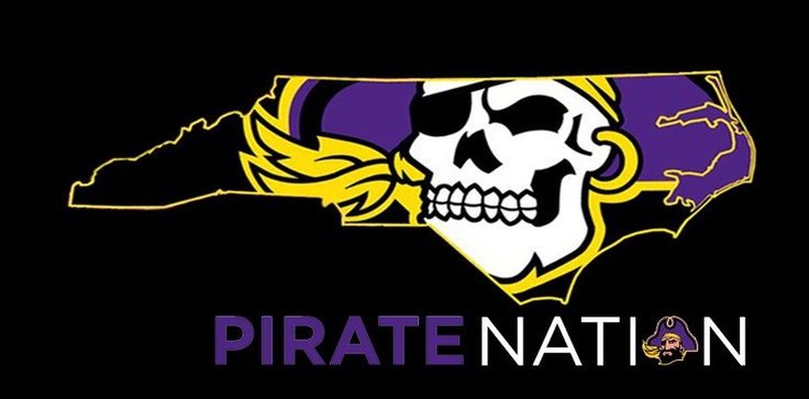 ECU Pirate Nation ARGGHHHH!  They love their football, in Greenville, NC.