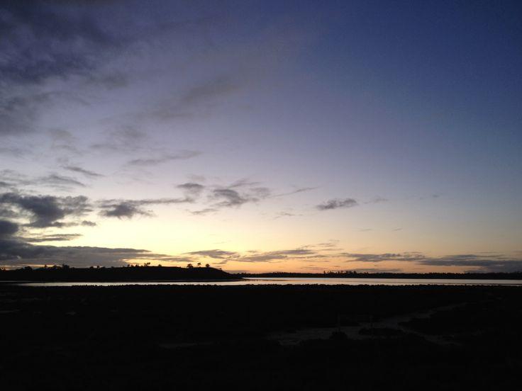 Lake Crosbie sunset