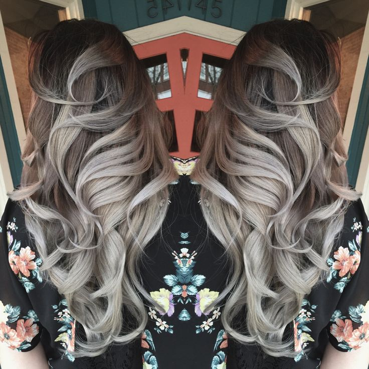 Grey hair, granny hair, silver hair, ombre, titanium, steel, woman of steel, pravana, joico, redken, summer hair color 2015, guy tang, Jason Franks, Eaton Rapids Michigan, Fahrenheit.