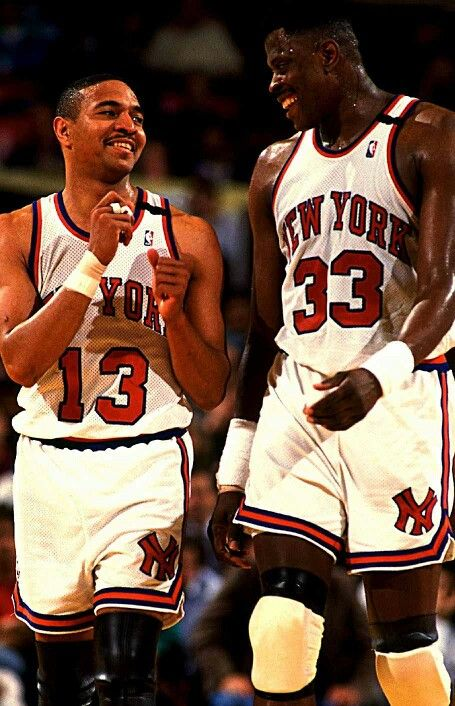 Mark Jackson (Left) and Patrick Ewing (Right) used too be teammates on the New York Knicks during the 90's, Patrick Ewing was also one of the best centers who ever played the game