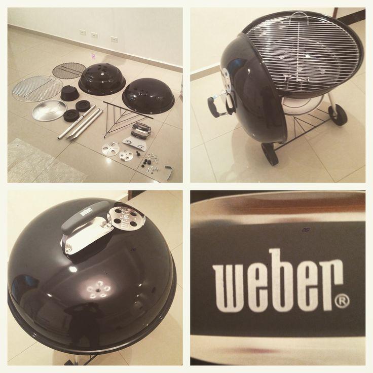 Montagem da Churrasqueira Weber Compact 57pt