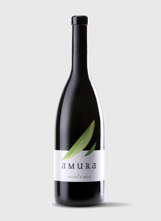 Diseño de etiqueta de Vino Amura, wine packaging #taninotanino #vinosmaximum