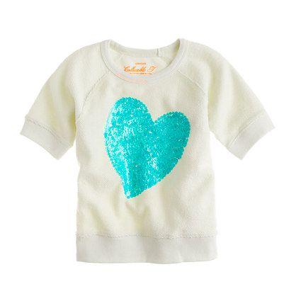 sequin heart sweatshirt: Kids Outfits, Kids Clothes, Http Berryvogue Com Kidscloth, For Kids, Jcrew, Baby, Kid Outfits, Kids Clothing, Heart Sweater