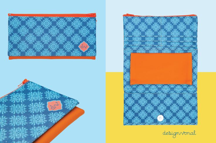 DAMASK women's wallet by Designvonal available at http://dvshop.hu // Pattern design by Csaba Hutvágner