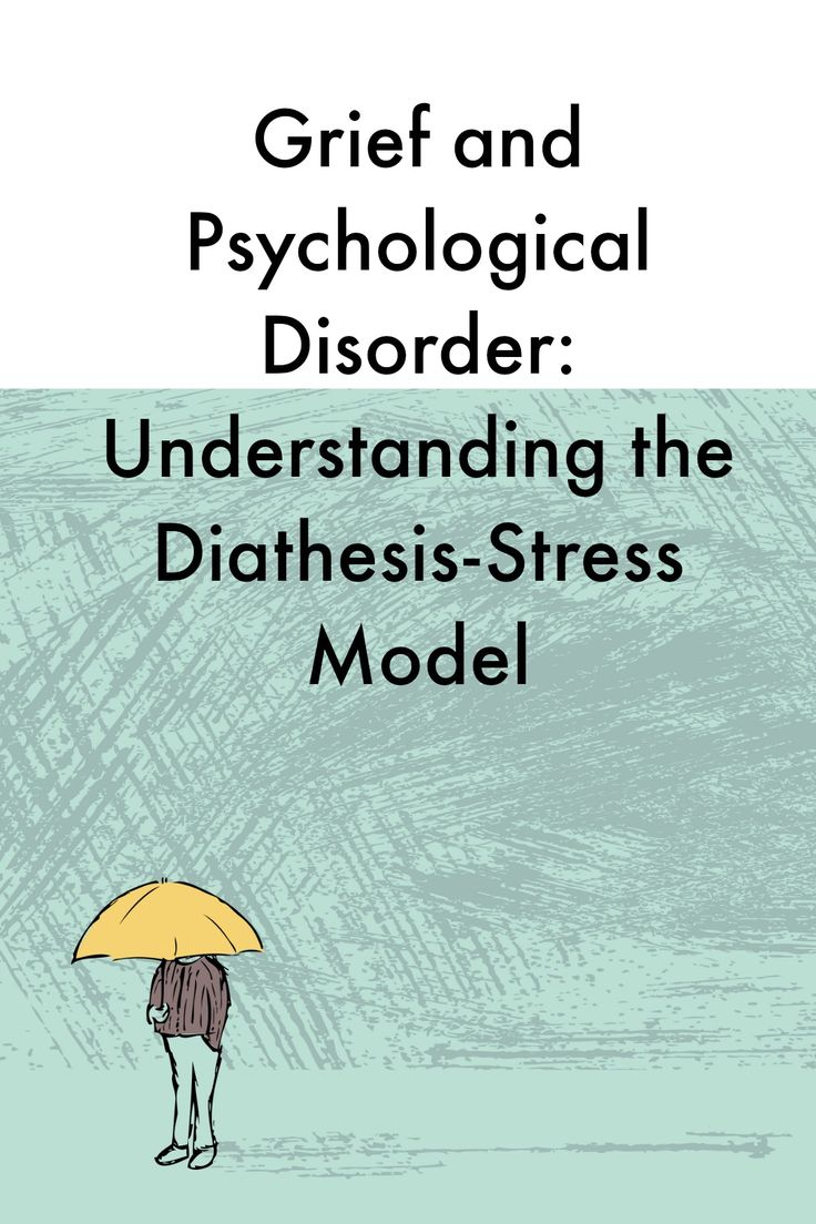 the stress diathesis model