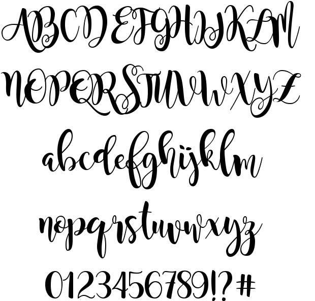 Magnolia Sky font by StereoType  http://www.fontriver.com/font/magnolia_sky…