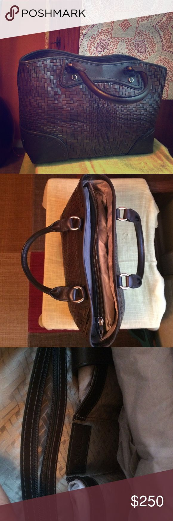 Cole Haan, brown hand bag for the fall 🍂 New, but without original tags Cole Haan Bags Shoulder Bags