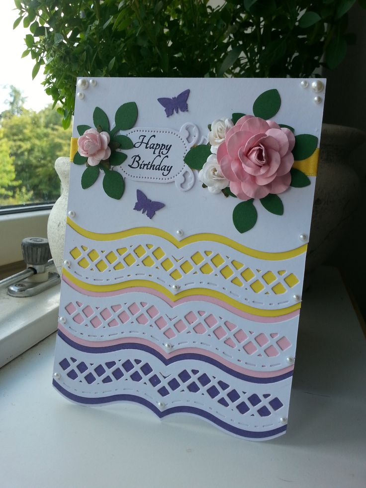 Homemade Card for Just Rite Friday Challenge