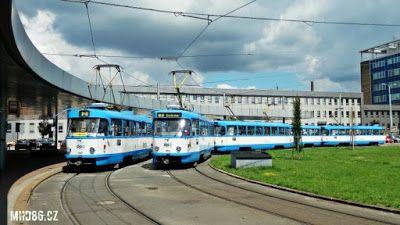 Praha Anděl: Počet cestujících v ostravské MHD roste