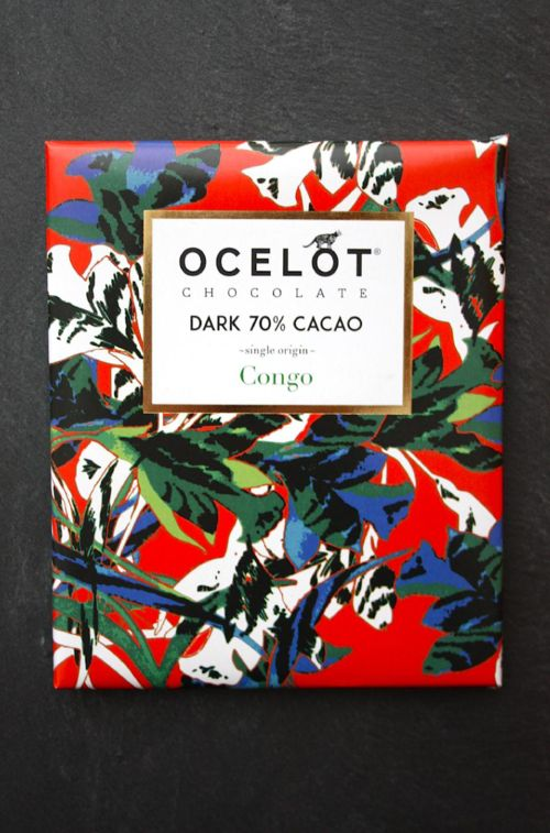 OCELOT, organic chocolate brand from Scotland, Edinburgh.