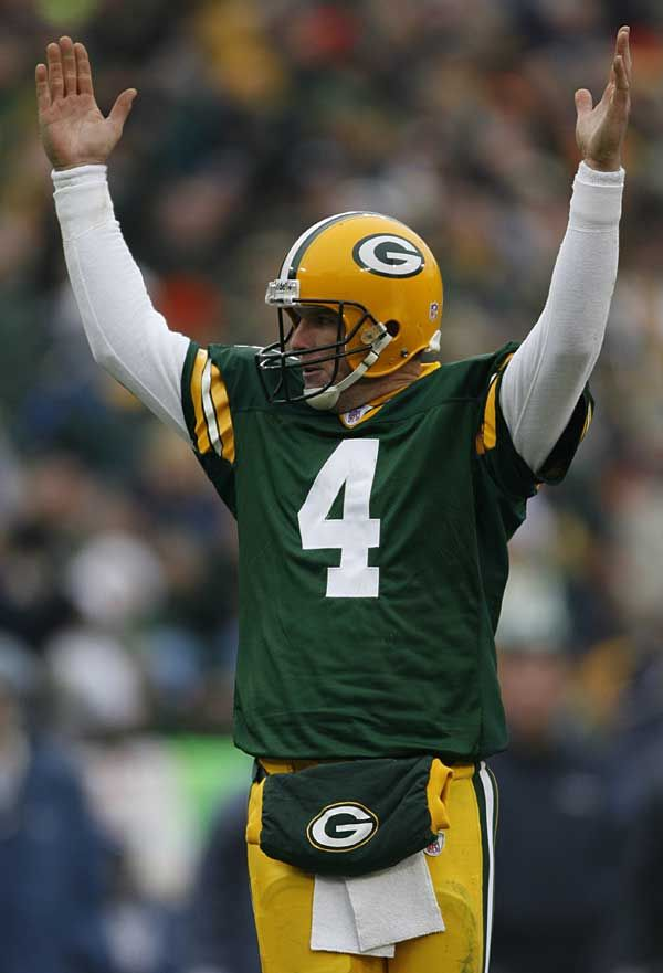 Yes, Aaron Rodgers has kept it going in Green Bay,  but don't forget, it was Brett Favre that got the Packer offense back on track and brought the Vince Lombardi Trophy back to Title Town, U. S. A.