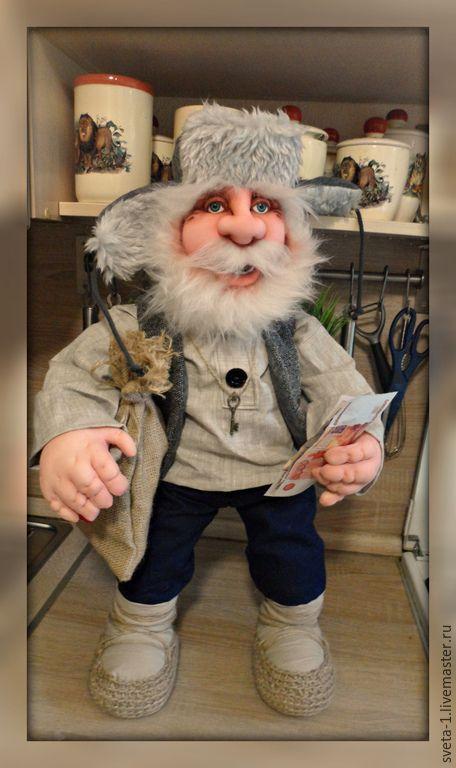 Купить домовой - серый, домовой, оберег для дома, оберег для семьи, подарок на любой случай