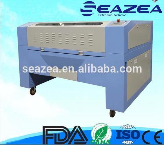 SEAZEA 1390 Desktop co2 laser cutting machine price , cheap laser cutting machine ,100W CO2 laser cutter for sale