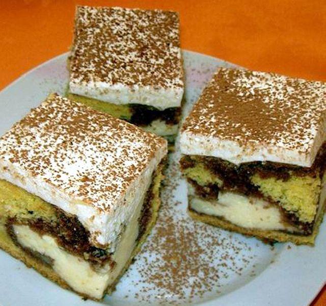 Egyszerű, gyors, könnyen elkészíthető, nagyon finom sütemény!