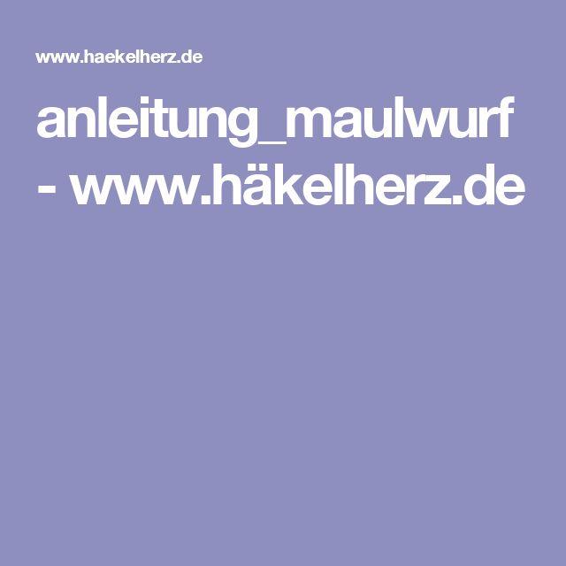 anleitung_maulwurf - www.häkelherz.de