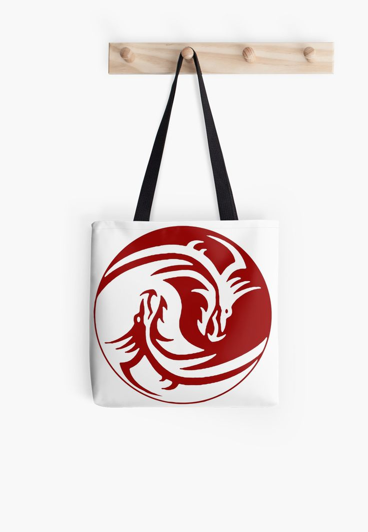 Yin and Yang dragons, red and white by cool-shirts   30% off Tapestries, Pillows, Mugs, Totes & Kids Clothes. Use FINDGIFTS30 Also available as T-Shirts & Hoodies, Men's Apparels, Women's Apparels, Stickers, iPhone Cases, Samsung Galaxy Cases, Posters, Home Decors, Tote Bags, Pouches, Prints, Cards, Mini Skirts, Scarves, iPad Cases, Laptop Skins, Drawstring Bags, Laptop Sleeves, and Stationeries #bags #tote #red #white #dragons #design #style #sale #trending #popular #yin #yang #tao