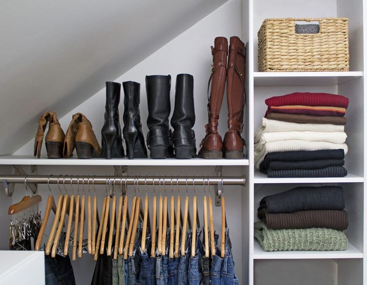 its even harder if your closet is an attic or unusual space here are closet design tips from our walk in closet remodel