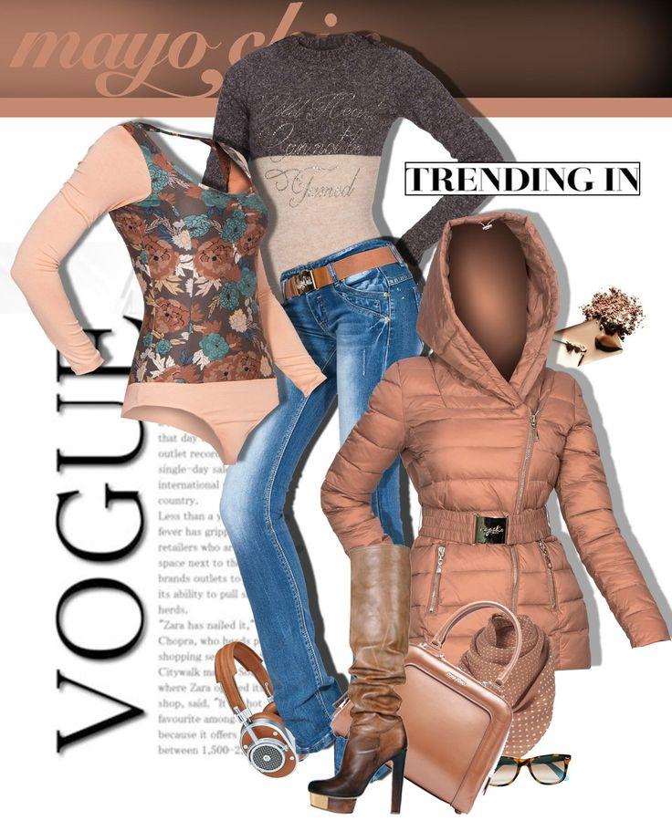 Vanessa body + Brooks trouser + Mika coat! #mayochix