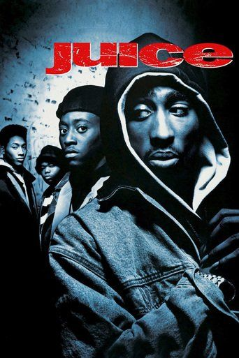 Juice (1992) | http://www.getgrandmovies.top/movies/9625-juice | Four Harlem friends -- Bishop, Q, Steel and Raheem -- dabble in petty crime, but they decide to go big by knocking off a convenience store. Bishop, the magnetic leader of the group, has the gun. But Q has different aspirations. He wants to be a DJ and happens to have a gig the night of the robbery. Unfortunately for him, Bishop isn't willing to take no for answer in a game where everything's for keeps.