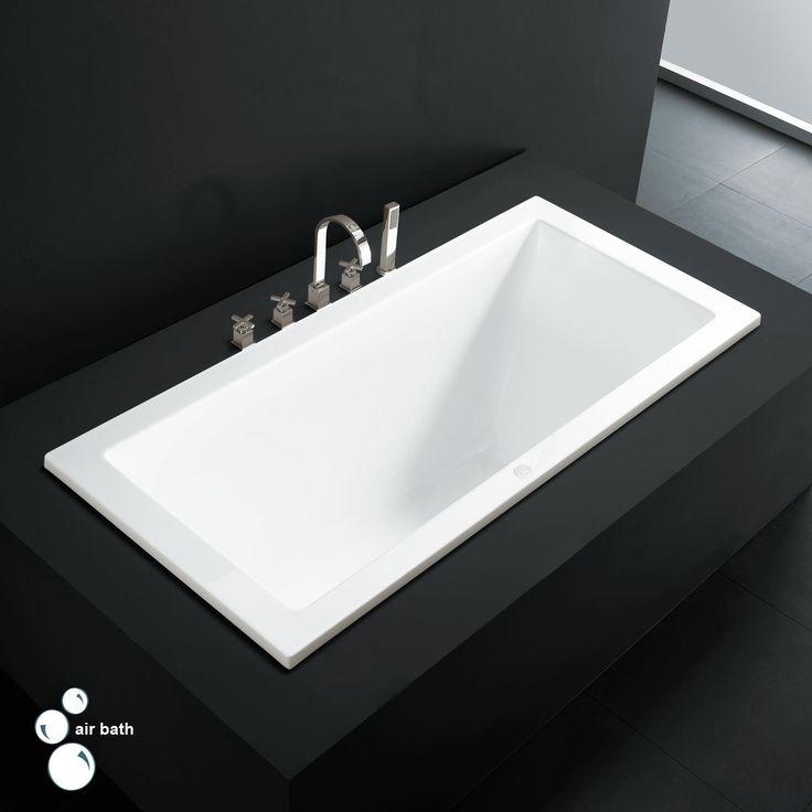 Eaton Acrylic Drop In Air Tub   Bathtubs   Bathroom