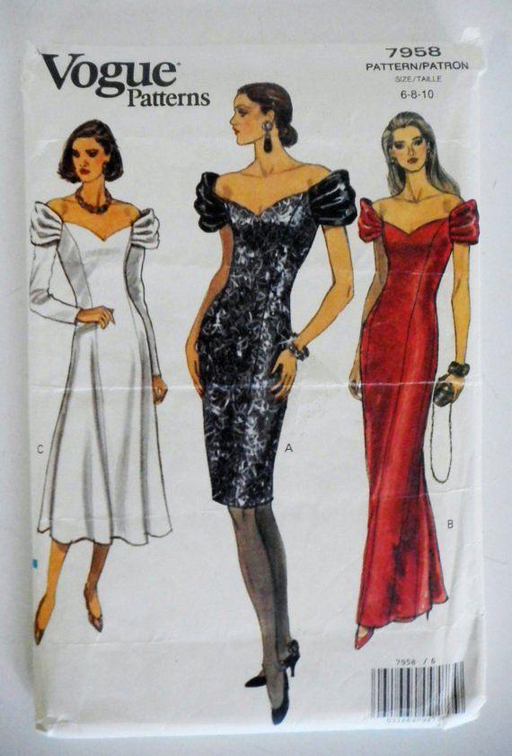 1990s evening dress. | 1990s | Pinterest