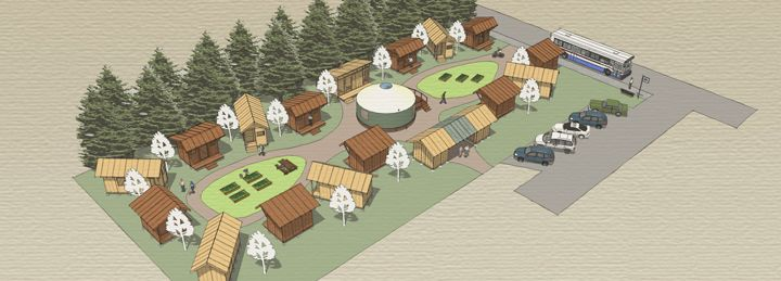 Montana Community Moves Forward With Plans For A Tiny: Tiny House Community Layout