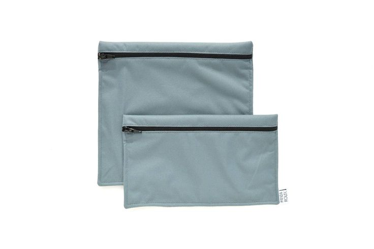 2 Reusable bags - one snack bag one sandwich bag - Gray par CreationsPandaRoux sur Etsy https://www.etsy.com/ca-fr/listing/518854825/2-reusable-bags-one-snack-bag-one
