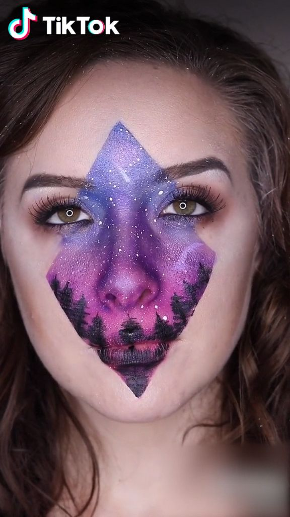 Amazing #makeup of northern sky! Super cool! Download #TikTok now to find more trending makeup ideas. Share your perfect makeup tutorial with others! Life's moving fast, so make every second count. #beauty #makeuptutorialsforover40