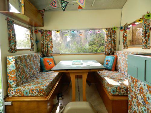 Original 1970s Retro Rapido Folding 4 Berth Caravan, Perfect Garden Summer House