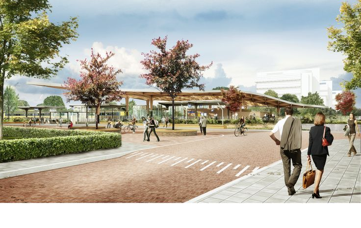Gallery - Powerhouse Company and De Zwarte Hond Selected to Redesign Assen Station - 6