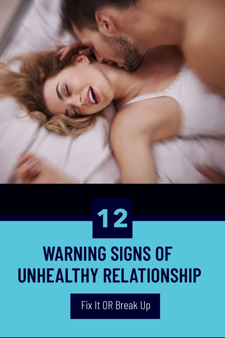 12 Warning Signs of Unhealthy Relationship | Relationship