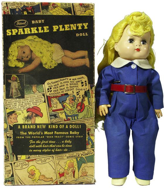 Sparkle Plenty Doll She Was In The Dick Tracey Comics I