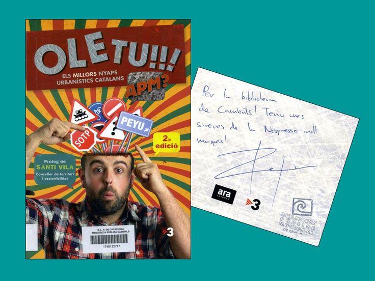 Ole tu!!!: els millors nyaps urbanístics catalans, de Peyu