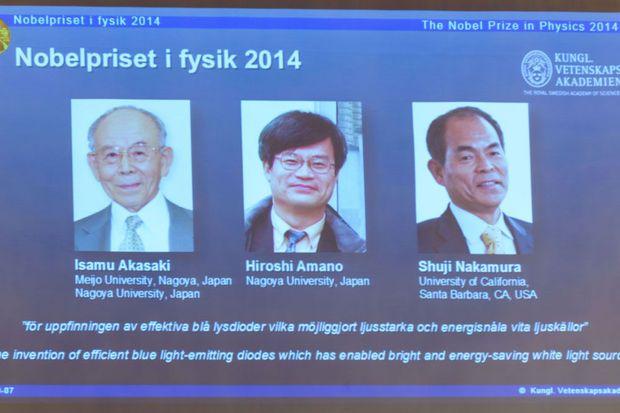 Nobelprijs voor Fysica voor uitvinding LED-lampen
